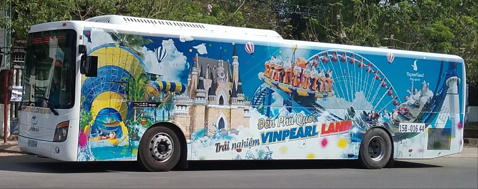 Xe buýt tại Phú Quốc