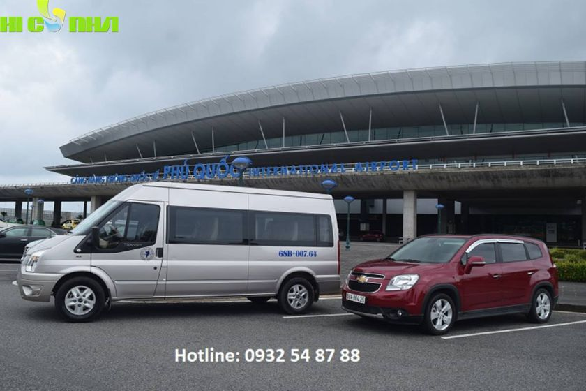 xe đưa đón sân bay Phú Quốc hicanha