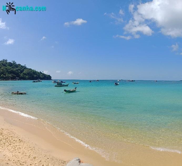 tắm biển tại Gành Dầu Phú Quốc