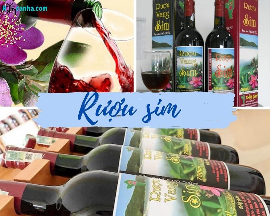 đặc sản rượu sim phú quốc