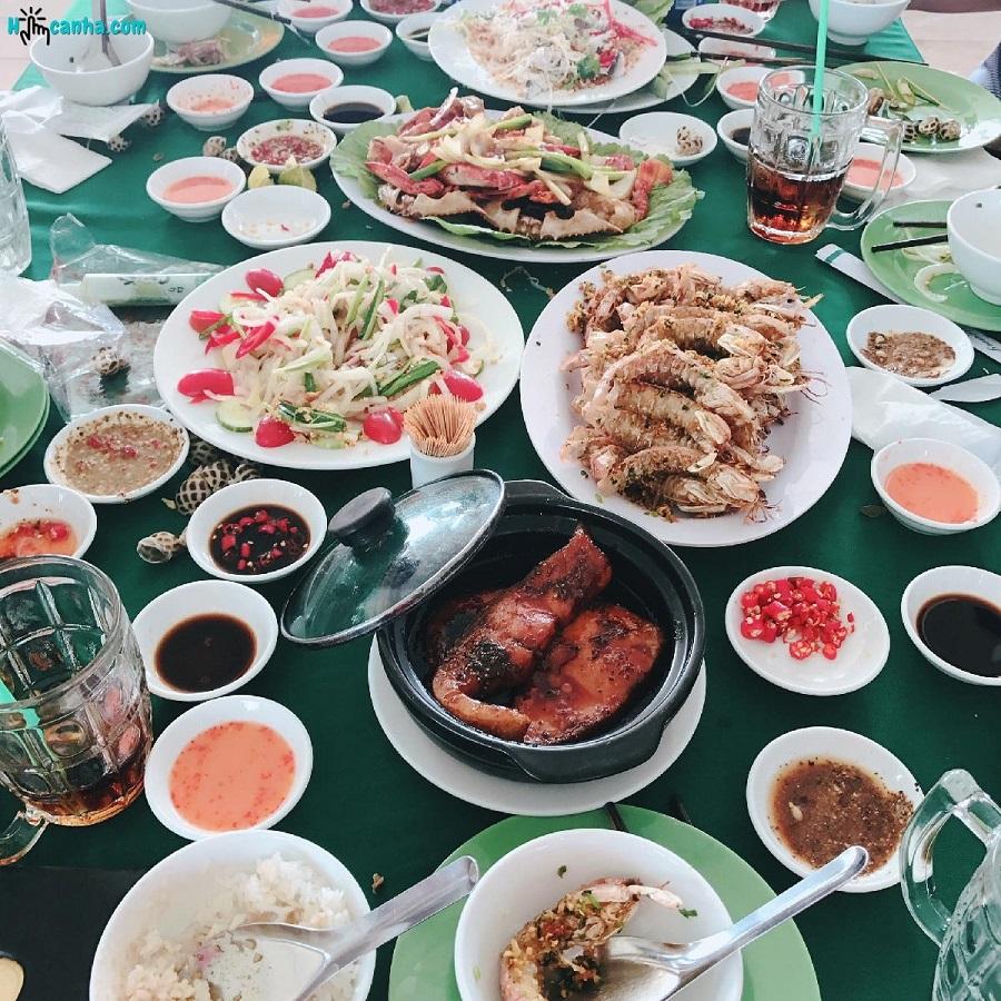 Các quán ăn và nhà hàng hải sản Hàm Ninh Phú Quốc