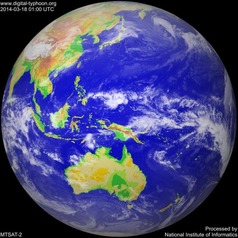 Ảnh vệ tinh của Digital-Typhoon