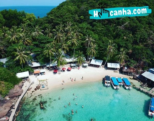 Đảo Hòn Móng Tay có gì?