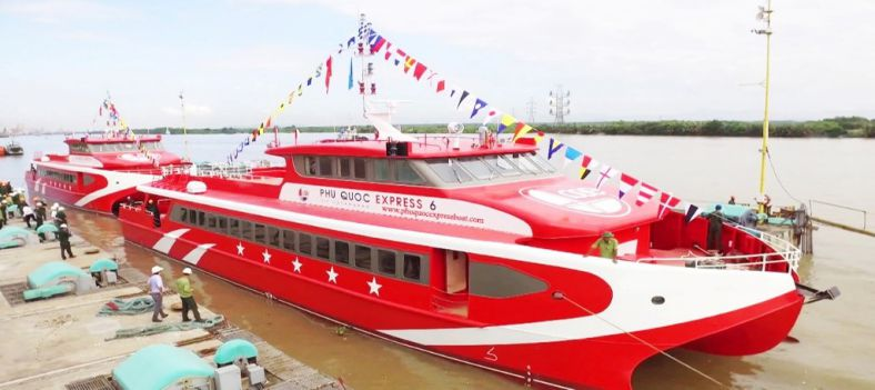 Tàu Phú Quốc Express 5 Sao