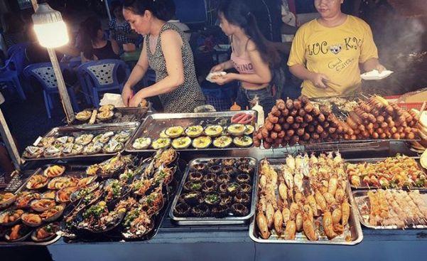 ăn hải sản ở chợ đêm phú quốc