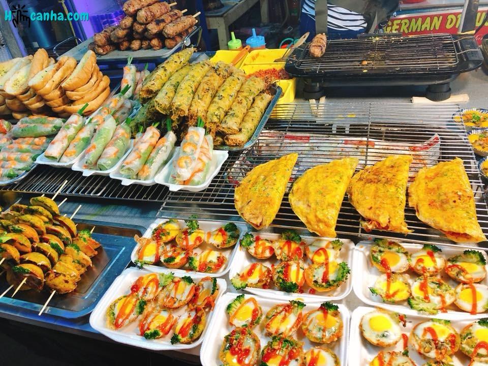 ẩm thực tại chợ đêm phứ quốc