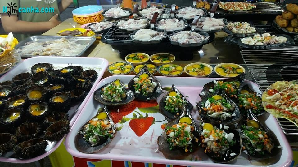 các món ăn hải sản tại chợ đêm phú quốc