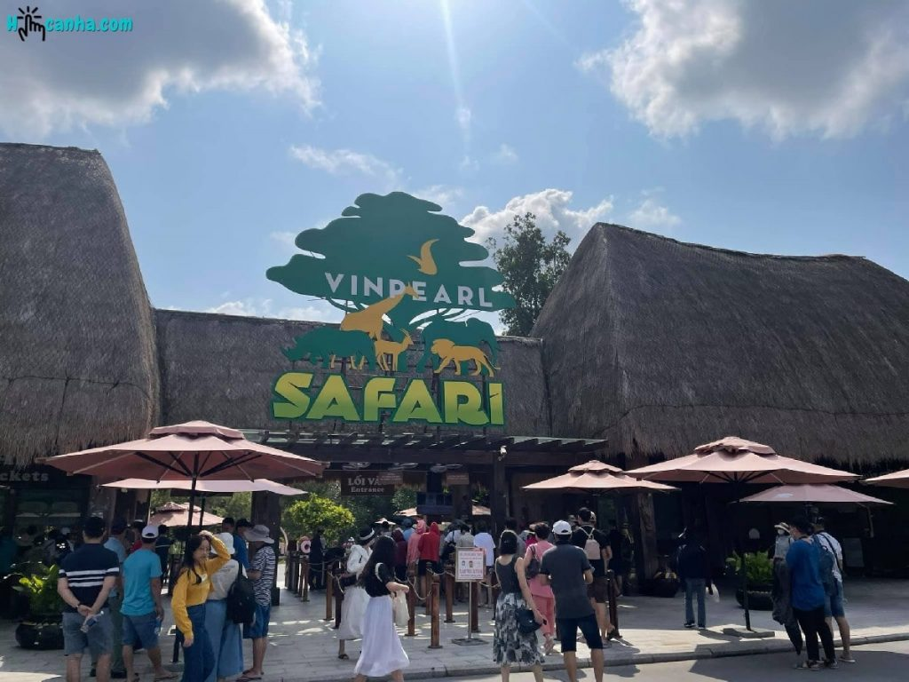 vườn thú safari phú quốc
