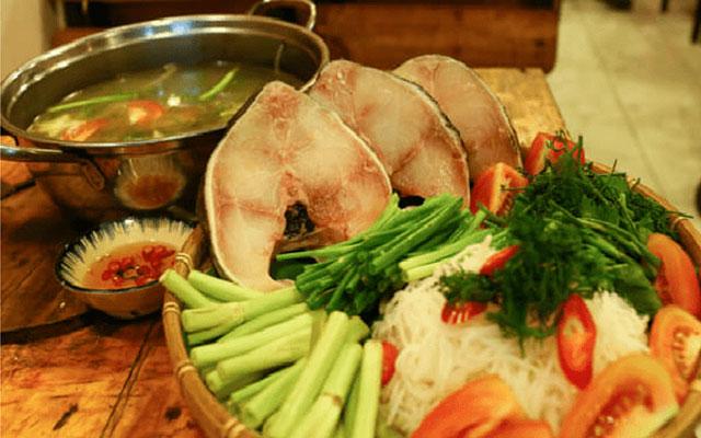 Phương Đông Quán - Lẩu cá bóp đế vương