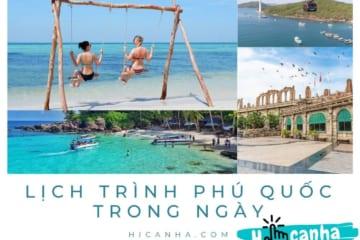 lich trinh tour phu quoc trong ngay _ Gợi Ý Lịch Trình Tour Phú Quốc Trong Ngày Dễ Áp Dụng
